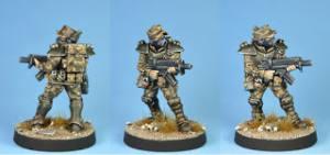 Urban War Viridian special forces trooper