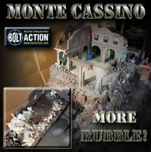 Monte Cassino, Part 4: More Rubble!