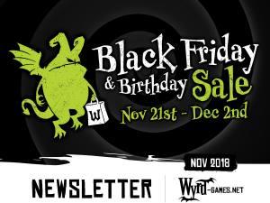 Black Friday 2018 Newsletter