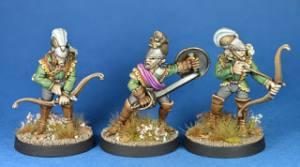 Crystal Elf Empire dragoons