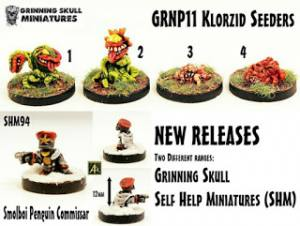 Grinning Skull and SHM new releases!