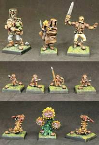 James Ward wizards party of creative insanity for Frostgrave