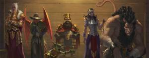 League of Infamy: What's a Villain Card?