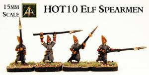 Elf 15mm Spearmen on offer and results of poll on next HOT Army sculpted