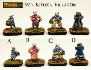 Kitoka Villagers new pack released in the Kitton range