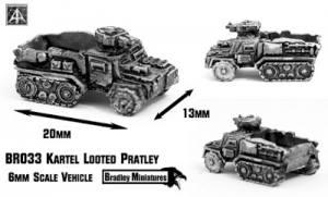 Kartel Looted Pratley new 6mm by Bradley Miniatures