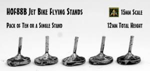 15mm scale Jet Bike flying stand released in the HOF Range