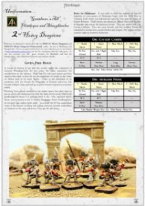 Uniformation for 2nd Heavy Dragoons free article