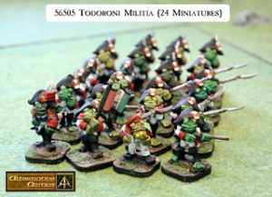 Todoroni of Nepolise divisional army pack for Slaughterloo and Flintloque