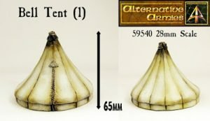 Bell Tent released into our 28mm Terrain range