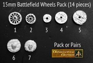 15mm Battlefield Wheels Pack released