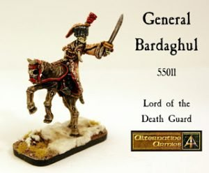 55011 General Bardaghul for Flintloque and Slaughterloo