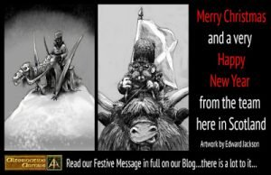 Alternative Armies festive message 2020 please read!