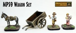 MPS9 Wagon Set classic 28mm Tabletop Games added to Guild Room