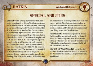 Ratkin warband preview