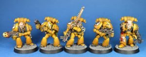 Revisiting my Imperial Fists Space Marines