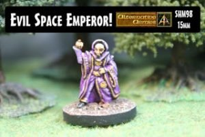 Evil Space Emperor 15mm scale released!