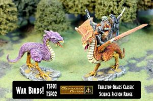 Szithks War Birds male and female classic kits released