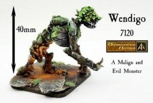 Wendigo a new 40mm tall monster released