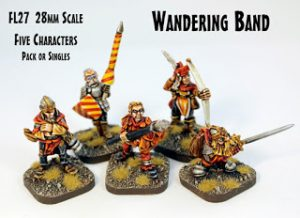 FL27 Wandering Band 28mm characters released!