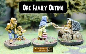 MPS8 Orc Family Outing classic set released