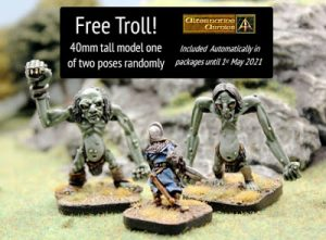 Troll free in every April order and 20% off all orders this month
