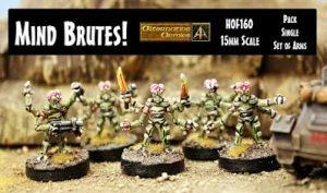 HOF160 Mind Brutes and HOF160A Mind Brute Arms released