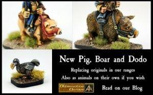 New Pummilig Pig, Boar and Dodo