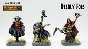 CA6 Deadly Foes three remastered 28mm fantasy miniatures