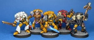 Imperial Fists Space Marine command