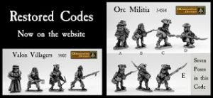 Valon Villagers and Orc Militia for Flintloque