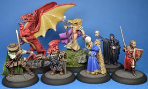 Fantasy adventurers and a dragon! Something brighter.