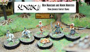 Magicians and Minor Monsters released Sengoku 15mm range