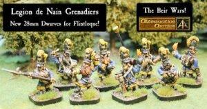 52524 Legion de Nain Grenadiers released and the Bier Wars
