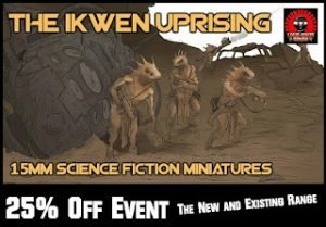 Ikwen Uprising event 25% off ends 3rd Sep now painted pictures online!