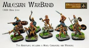 Erin Celtic Myth 28mm range now all have pictures!