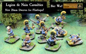 52022 Legion de Nain casualties released for Flintloque