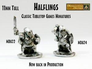 15mm Tabletop Games classic Halflings return!